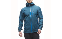 Houdini Men&#039;s Surpass Shell Jacket thunderbird/vulcano blue